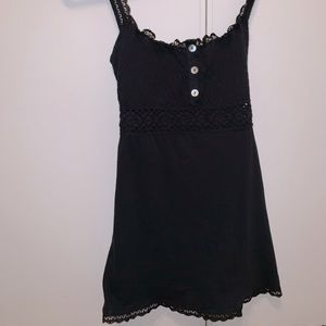 Lace detailed Free People tank top.